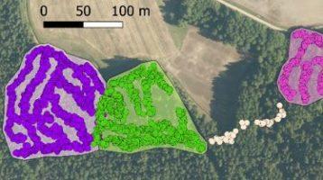 Automaattinen toimenpidekuvion rajojen muodostus hakkuukoneen sijaintitietoon perustuen